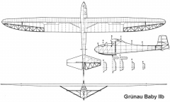 baby2b 3v model airplane plan