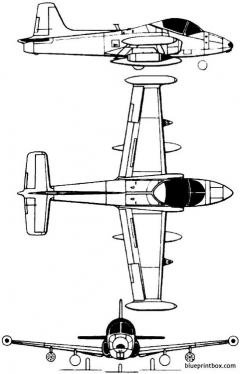 bac 167 strikemaster model airplane plan