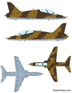 bae hawk mk61 model airplane plan