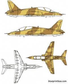 bae hawk mk63 model airplane plan