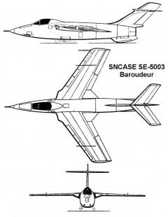 baroudeur 3v model airplane plan
