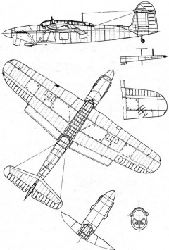 barracuda 1 3v model airplane plan