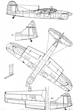 barracuda 2 3v model airplane plan