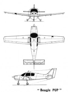 beagle pup 3v model airplane plan