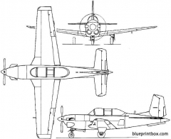 beech model 45 mentor  t 34 1948 usa model airplane plan