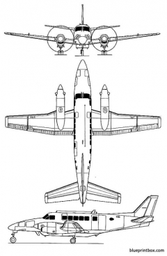 beechcraft 99a model airplane plan