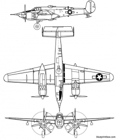 beechcraft a 38 grizzly model airplane plan