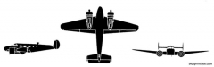 beechcraft t 7 navigator model airplane plan