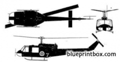 bell 204 model airplane plan