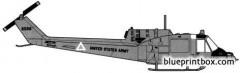 bell 204 uh 1c huey 1 model airplane plan