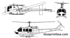 bell 205 model airplane plan