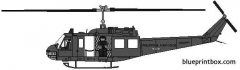 bell 205 uh 1 iroquois 02 model airplane plan