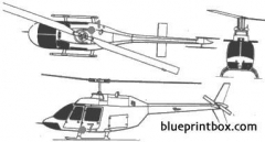 bell 206 model airplane plan
