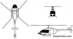 bell 206 jet ranger model airplane plan