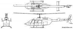 bell 206 l4 model airplane plan