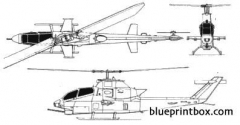 bell 209 hueycobra model airplane plan