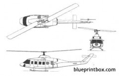 bell 214 model airplane plan