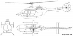 bell 407 ts model airplane plan