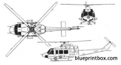 bell 412 2 model airplane plan