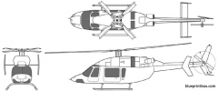 bell 427 vfr model airplane plan