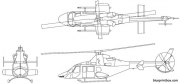 bell 430 ts model airplane plan