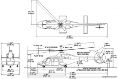 bell 430 wheel gear model airplane plan