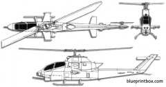 bell ah 1 cobra 2 model airplane plan