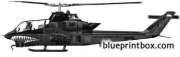 bell ah 1g huey cobra 1 model airplane plan