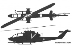 bell ah 1s cobra idf model airplane plan