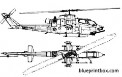 bell ah 1t gold cobra model airplane plan