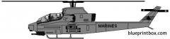 bell ah 1w super cobra model airplane plan