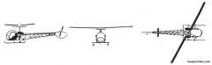 bell h 13 sioux model airplane plan
