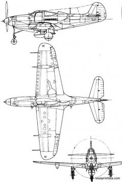 bell p 39q airacobra model airplane plan
