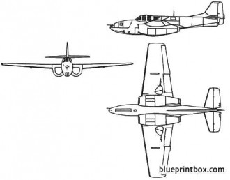 bell p 59 airacomet model airplane plan