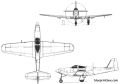 bell p 63 kingcobra model airplane plan
