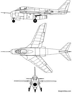 bell x 5 model airplane plan