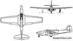 bell xp 59a airacomet model airplane plan