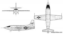 bell xs 1 model airplane plan