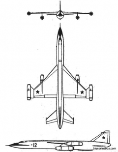 beriev model airplane plan
