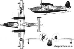 beriev 12p 2 model airplane plan
