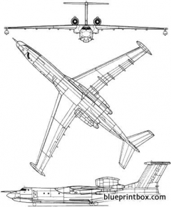 beriev a 40 model airplane plan