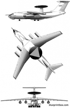 beriev a 50e model airplane plan