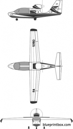 beriev be 101 model airplane plan
