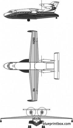 beriev be 112 model airplane plan