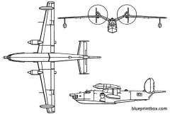 beriev be 12 mail model airplane plan