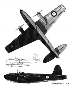 blackburn b20 model airplane plan