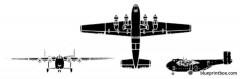 blackburn b 101 beverly model airplane plan