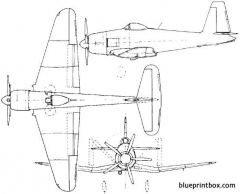 blackburn b 48 firecrest 1947 england model airplane plan