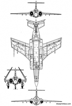 blackburn buccaneer 2 model airplane plan
