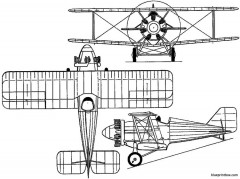blackburn f2 lincock 1928 england model airplane plan